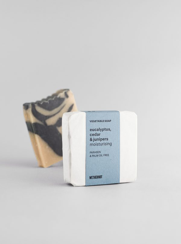 Eucalyptus, cedar & junipers vegetable soap, made in portugal by wetheknot