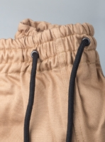 Drawstring trousers in 260gsm cotton (detail)
