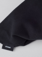Organic cotton fabric in black with 340gsm