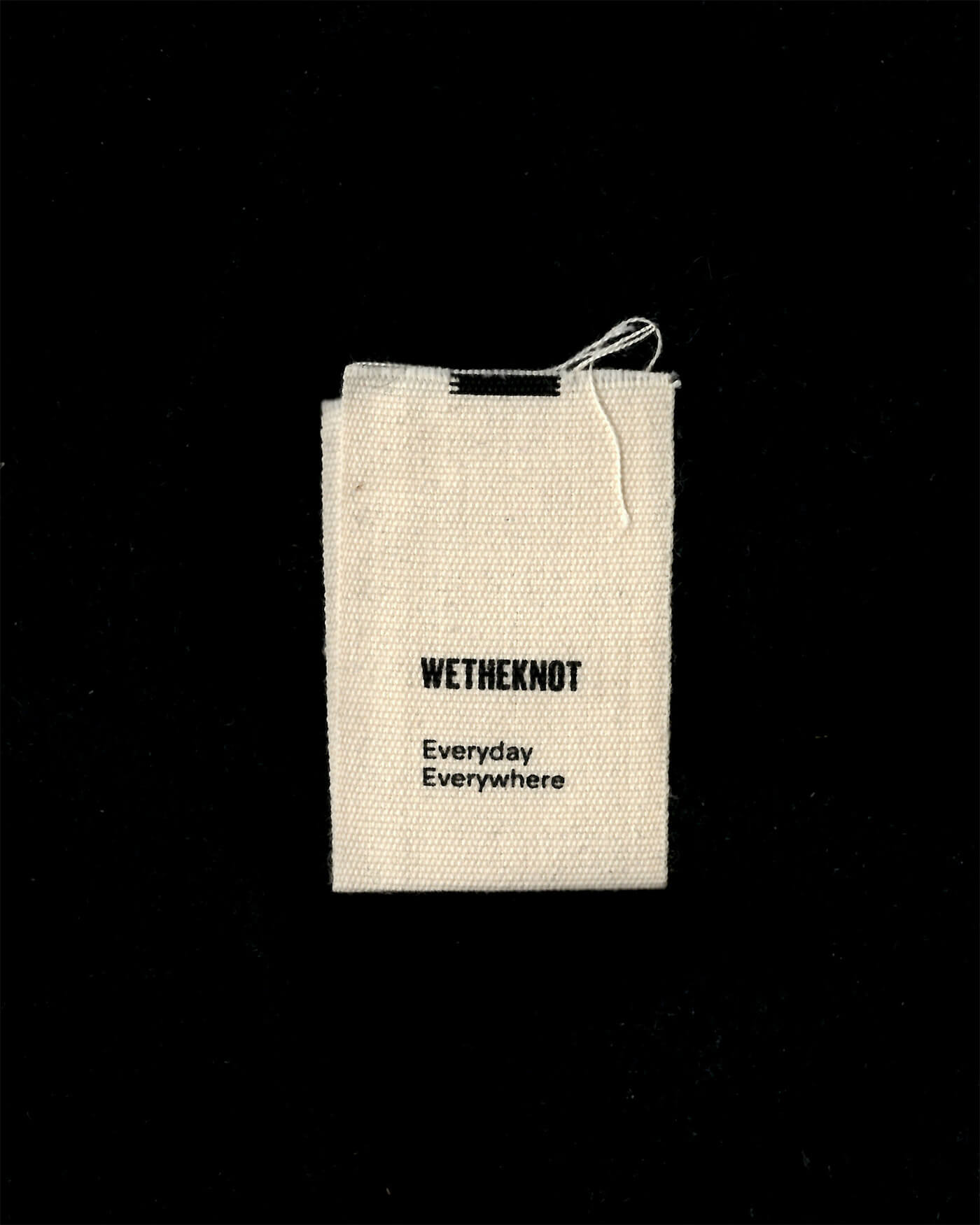 wetheknot label — everyday, everywhere