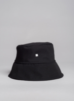 Graphic bucket hat (black), made in Portugal by wetheknot