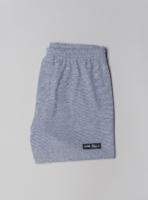 Piqué boxer shorts (blue melange) made in Portugal by wetheknot