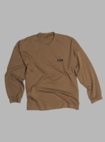 Relaxed jersey long sleeve (brown) made in Portugal by wetheknot