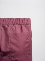 Swim shorts (cherry) made from upcycled umbrellas found in the streets, made in Portugal by wetheknot