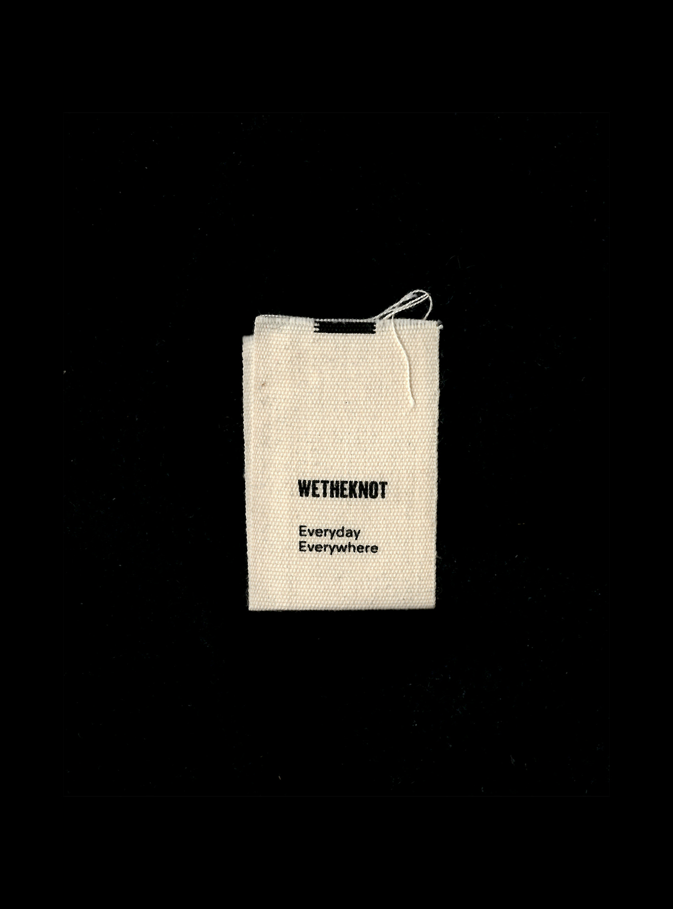Everyday, everywhere — wetheknot's motto